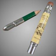 Vintage Souvenir Advertising Pencil - Crest House Mt. Evans Colorado