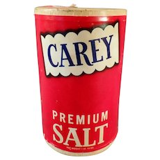 Vintage Carey Salt Box from Hutchinson, Kansas