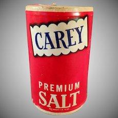 Vintage Carey Salt Box from Hutchinson, Kansas
