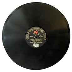 Vintage Pathe Freres Phonograph Record – Casey and Riley – Family Troubles/Lunch Hour