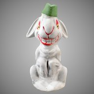 Vintage German Easter Candy Container – Silly White Easter Rabbit C.C.