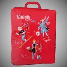 Vintage Ideal Tammy Doll Vinyl Case – 1960's