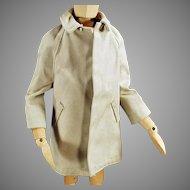 Vintage Ken Doll Clothes - All Weather Over Coat for Mattel's Ken Doll