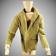 Vintage Ken Doll Clothes - Sports Coat Jacket for Mattel's Ken Doll