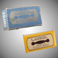 Vintage Lady Laurel Safety Razor Replacement Blades