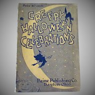 Vintage Halloween Party Book – 1926 Creepy Halloween Entertainments