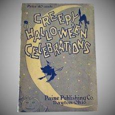 Vintage Halloween Party Book – 1926 Creepy Halloween Entertainments