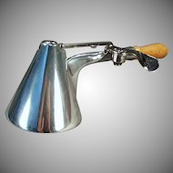Vintage Walker's Quick & Easy Ice Cream Scoop - Conical Bowl Aluminum Disher