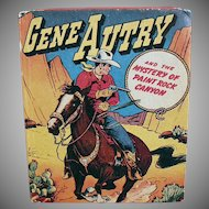 Vintage Gene Autry Better Little Book - No. 1425 Mystery of Paint Rock Canyon