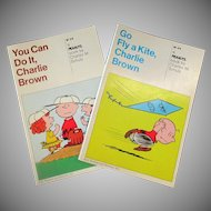 Charlie Brown Paperback Books – You Can Do It & Go Fly a Kite