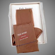 Vintage Park Avenue Nylon Stocking - Unused Pair with Box