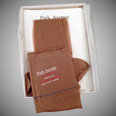 Vintage Park Avenue Nylon Stocking - Unused Pair with Box