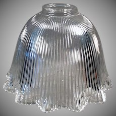 Vintage Light Shade - Large Single Shade for Old Light Fixture