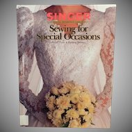 Old Singer Sewing for Special Occasions Book – Bridal, Prom and Evening Dresses