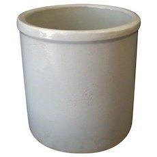 Vintage Robinson Ransbottom Pottery Crock – Marked R.R.P.Co Roseville