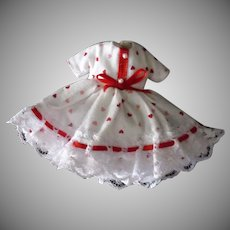 Vintage Betsy McCall Doll Outfit – Cute Dress for Valentine's Day