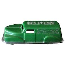 Vintage Hard Plastic Renwal Grocery Sedan Delivery in Very Nice Condition