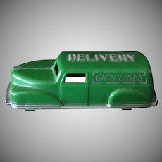 Vintage Hard Plastic Renwal Grocery Sedan Delivery in Very Nice Condition