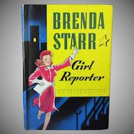 Vintage Book - Brenda Starr Girl Reporter - 1943 Authorized Edition