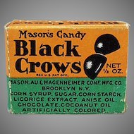 Vintage Black Crow Candy Drops Sample Box