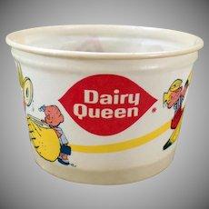 Vintage Dairy Queen Ice Cream Cup - Dennis the Menace – D.Q. Advertising