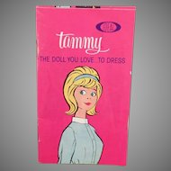 Vintage Ideal Tammy Doll Booklet – Tammy's Family Clothes Phamplet