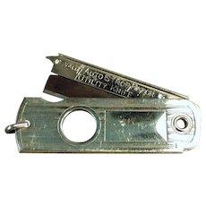 Vintage Valet Autostrop Safety Razor Co. Utility Knife Cigar Cutter Watch Fob