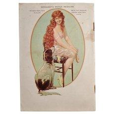 Vintage 1927 Polk Miller's Advertising Dog Booklet - Great Reference Material