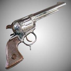 Vintage Geo. Schmidt Roy Rogers Cap Pistol Toy Gun - 1950's