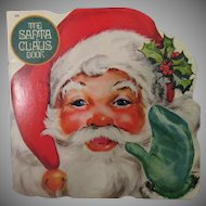 Vintage Golden Shape Christmas Book – The Santa Claus Book - 1977