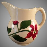 Vintage Watt Pottery Creamer with #15 Starflower Design