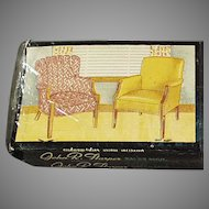Vintage Fort Smith Chair Company - 4 Book Advertising Matches