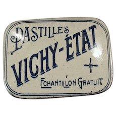 Vintage Vichy-Etat Pastilles - Sample Medicine Tin