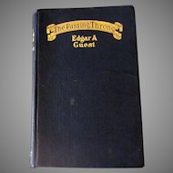 Vintage Hardbound Book – The Passing Throng by Edgar A Guest, 1923