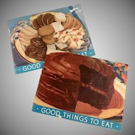 Vintage Arm and Hammer Advertising Recipe Booklets- Little Cookbooks
