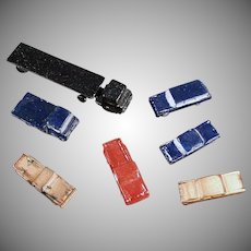 Vintage Miniature Die Cast Cars for Architectural Models