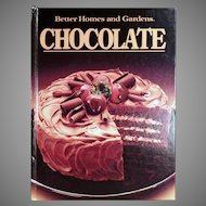 Vintage Better Homes and Gardens Chocolate Recipe Cookbook