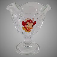 Vintage Elsie the Borden Cow Advertising Sherbet - 4  Available - 1950's-60's