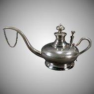 Vintage 1800's Manning Bowman Kerosene Oil Lamp Filler - Elegant Shape