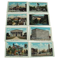 Vintage Philadelphia Souvenir Photo Souvenir Mailer with 20 Photos