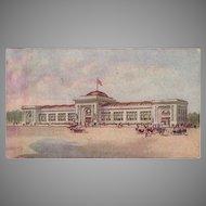 Vintage Watkins Advertising Postcard - Watkins Administration Building in Winona