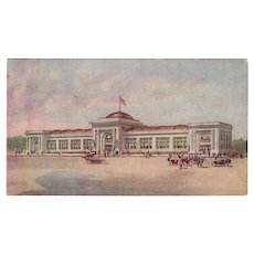 Vintage Watkins Advertising Postcard - Watkins Administration Building in Winona