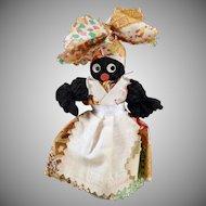 Vintage Black Memorabilia Souvenir - New Orleans Black Mammy Bell