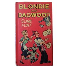 "Vintage 1949  ""New"" Better Little Book – Blondie and Dagwood – Some Fun!"