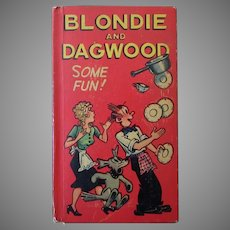 """Vintage 1949  """"New"""" Better Little Book – Blondie and Dagwood – Some Fun!"""