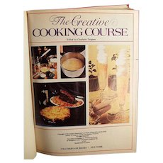 Vintage Creative Cooking Course Recipe Book by Turgeon -1975 Creative Homemaker's Academy Hardback