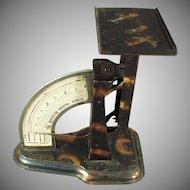 Vintage 1904 Triner Superior Postal Desk Scale - Tiger Stripe Finish - Office Accessory