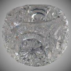 Vintage Pressed Glass Individual Salt Dip