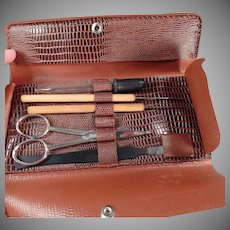 Vintage Clay-Adams Dissecting Set - German Dissecting Tools with Pouch