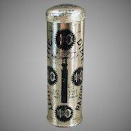 Vintage Dime Safety Razor with Original Tin - 1907 International Safety Razor Company